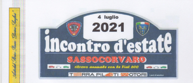 INCONTRO D'ESTATE 4 LUGLIO 2021